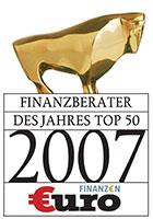 Finanzberater des Jahres 2007